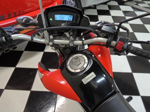 honda/ nxr 160 bros esd- flex - vermelho- completo- 2015