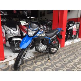Honda Nxr Bros Esdd 160 Bros 2020 Azul
