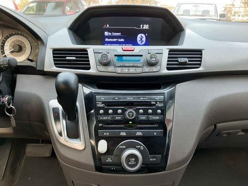 honda odyssey 2013 5p touring minivan aut piel cd q/c dvd