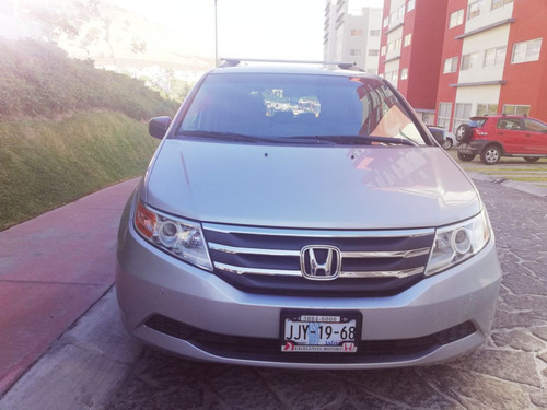 honda odyssey 3.5 exl credito  minivan cd qc at 2012