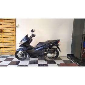 Honda Pcx 150 2018 Azul Tebi Motos