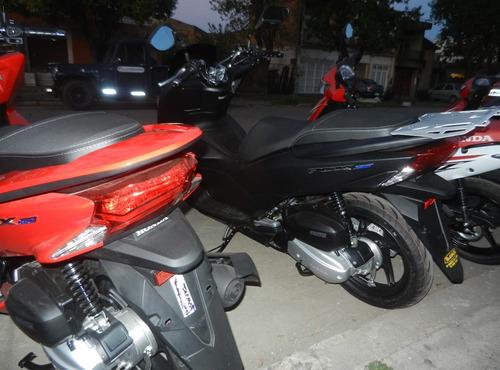 honda pcx 150 placa porta equipajes aluminio motoperimetro ®
