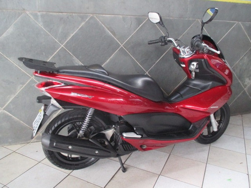 honda pcx 150 vermelha 2014