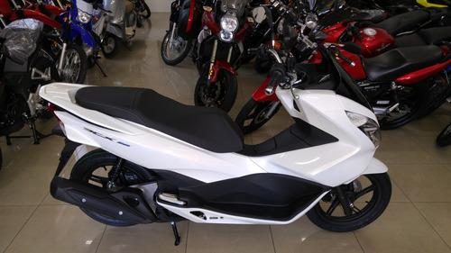 honda pcx150 blanco 0 km permuto financio qr motors