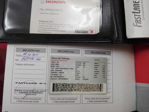 honda pilot 2009 exl como nueva