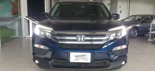 honda pilot exl 2016 at 4x4 azul