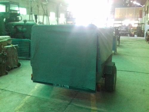 honda recon trx 250 e.s. con trailer !!!