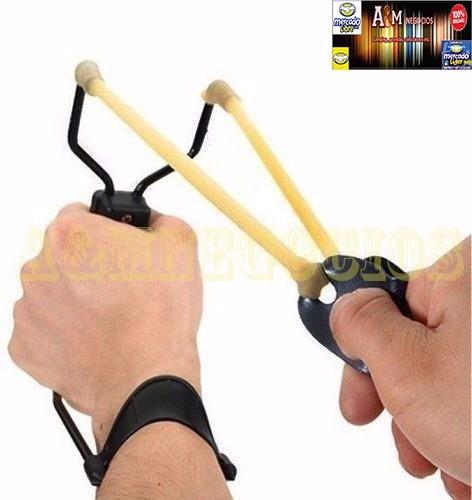 honda resortera con apoyador de brazo para mejor precision