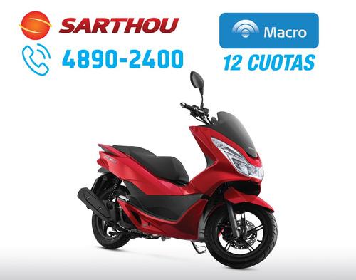 honda scooter pcx 150 2017 0km sarthou macro 12 cuotas
