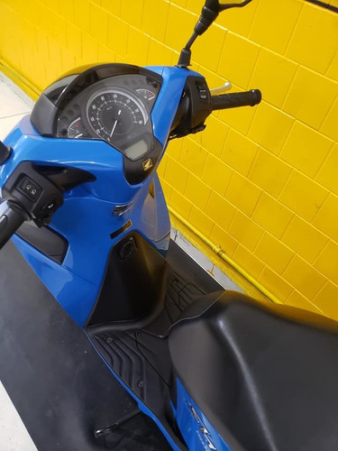 honda sh 150 i - azul - 2017 - km 9.000