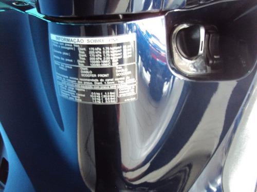 honda sh 150i 2018 azul c/ 6.000 km campinas sp.