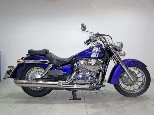 honda shadow 750  2008 azul