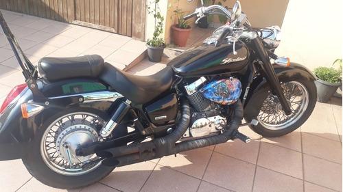 honda shadow 750 cc  2006 barbada