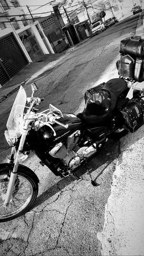 honda shadow 750 - troco por fatboy