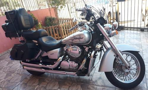 honda shadow 750cc ano 2008 prata