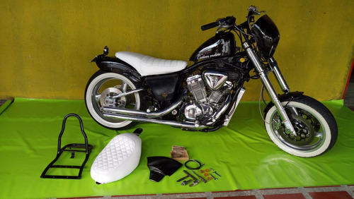honda shadow moto chopper