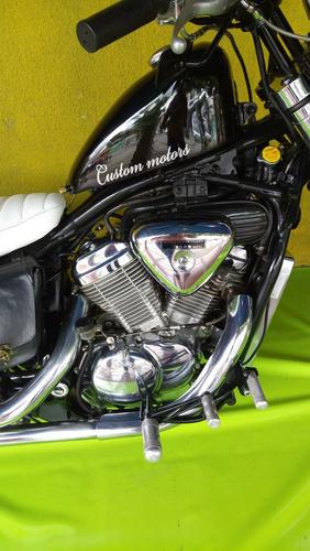 honda shadow moto chopper