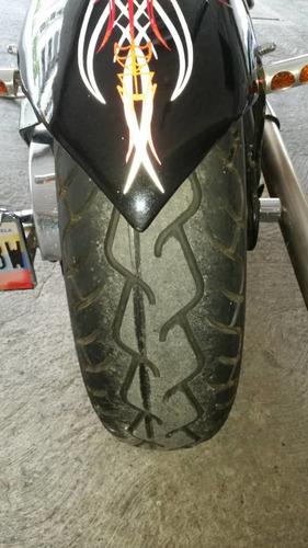 honda steed 400 cc negra