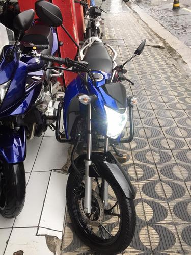 honda titan 160 ex azul ano 2019 shadai motos