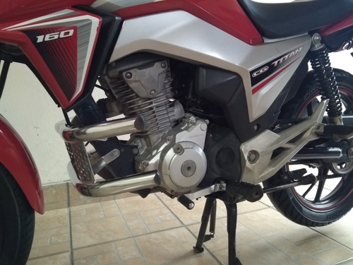 honda titan 160 flex-one 2015/16 série esp.