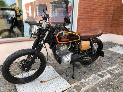 honda titan cg 150cc 2012 cafe racer scrambler tracker