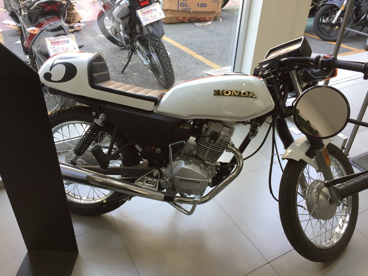 Buscar Carros Baratos >> Honda Tool 125cc Cafe Racer 2018 Honda Insurgentes ...