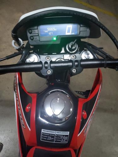 honda tornado 250 cc modelo 2018 impecable no flete