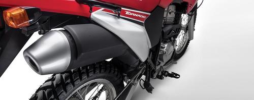 honda tornado xr 250 0km rojo 2020 - power bikes