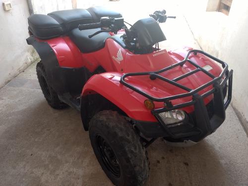 honda trx 250 rojo 2008 6991km
