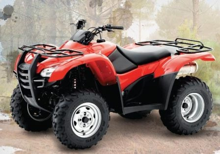 honda trx 420 automatico 4x4 0km electric shift - motorrader