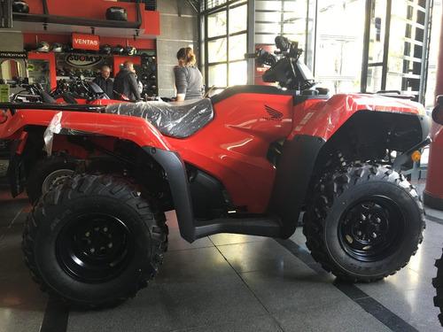honda trx 420 caja manual  reggio motos