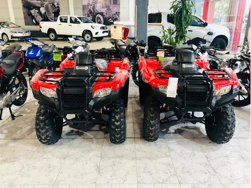 honda trx 420 fourtrax 4x2  okm/2018