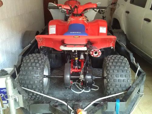 honda trx90 kit 114cc suspensiones de trx300 un lujo trx 90