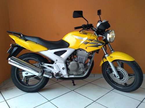 honda twister 250 2007 amarela