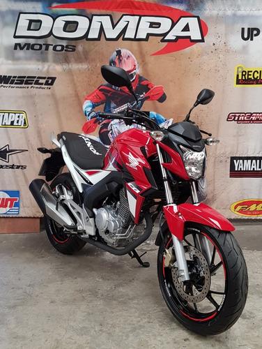 honda twister 250 impecable 2000 km permuta dompa motos