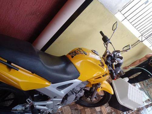 honda twister 250,dut em branco,moto bem conservada.