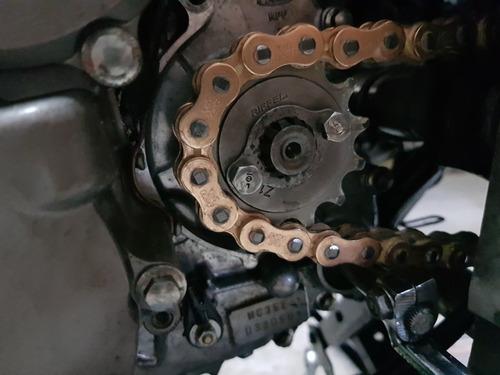 honda twister cbx - enfierrada 340cc - única! oportunidad!