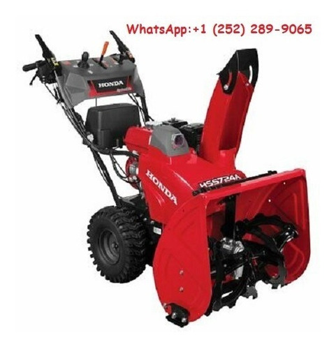 honda two stage electric start snow blower