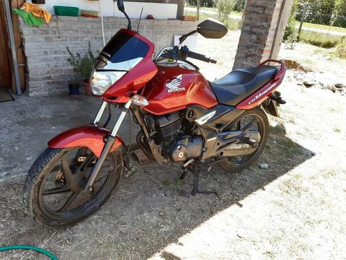 honda unicorn 150cc roja