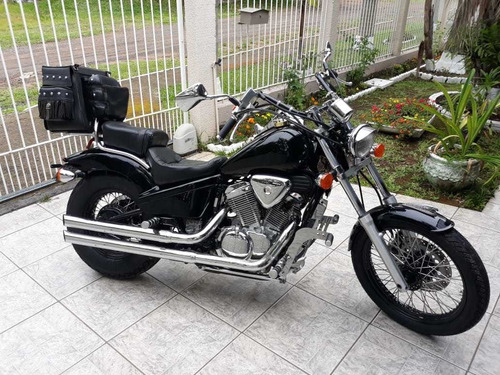 honda vt 600cc shadow 2002- impecavel no rs