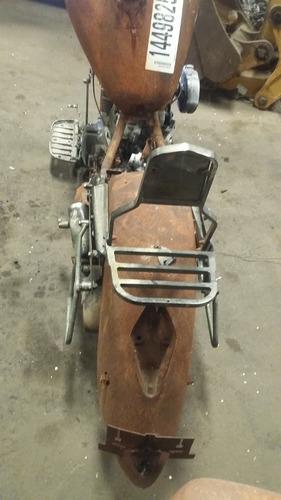 honda vtx1300 negra 2003 partes etc quemada motocicleta