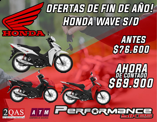 honda wave 110 s blanca 2019  performance bikes