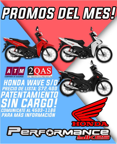 honda wave 110 s negra 2019  performance bikes