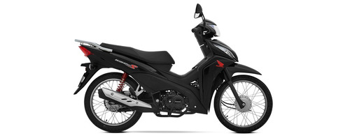 honda wave 110s 0km blanco negro rojo power bikes