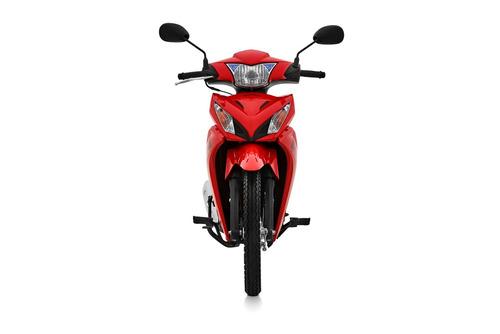 honda wave 110s 0km blanco negro rojo power bikes