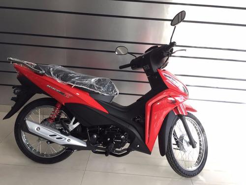 honda wave s 110 110s nueva new 0km okm moto rojo