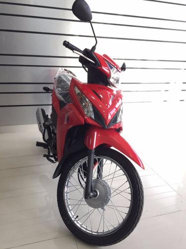 honda wave s 110 110s nueva new 2018 0km okm moto rojo