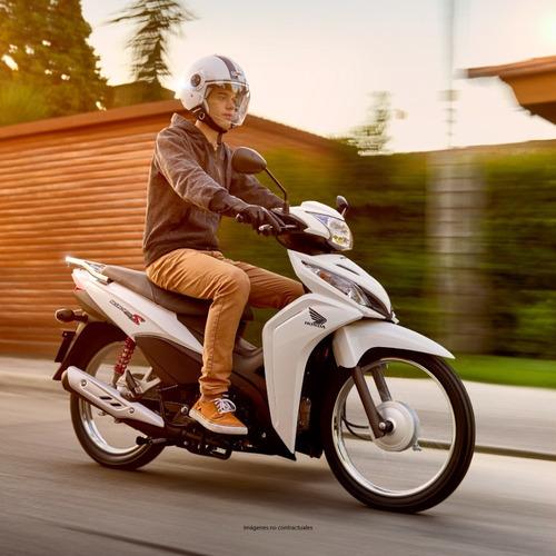 honda wave110 cd blanca scooter - 0km  -  expomoto