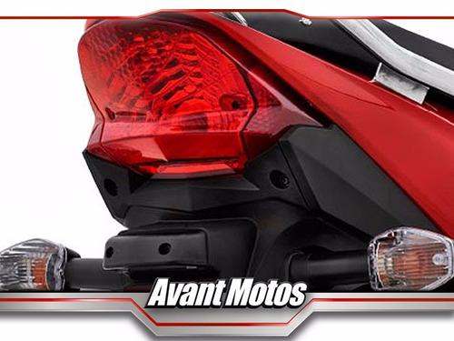 honda wave110 rojo 2020 0km wave 110 avant motos