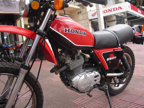 honda xl 250 año 1981 estado impecable